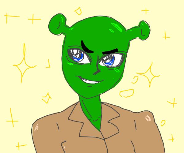 Anime, teen Shrek.