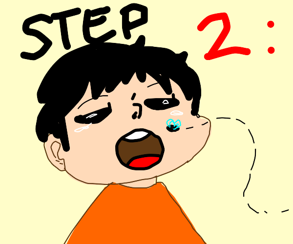 Step 2: eat a fly