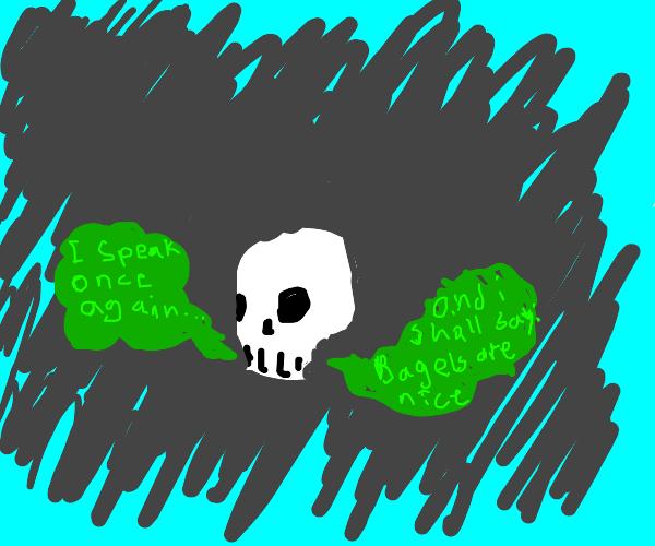 THE DEAD SPEAK!