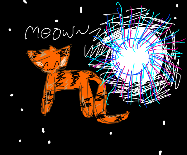 meowing trans-dimensional tiger