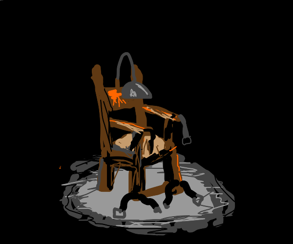 BEHOLD... the chair...