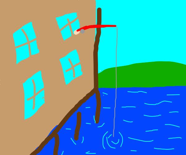 Window fishing