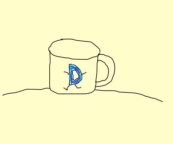 Drawfee mug logo