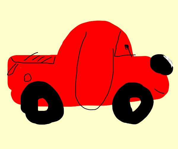 A truck that looks like a dog