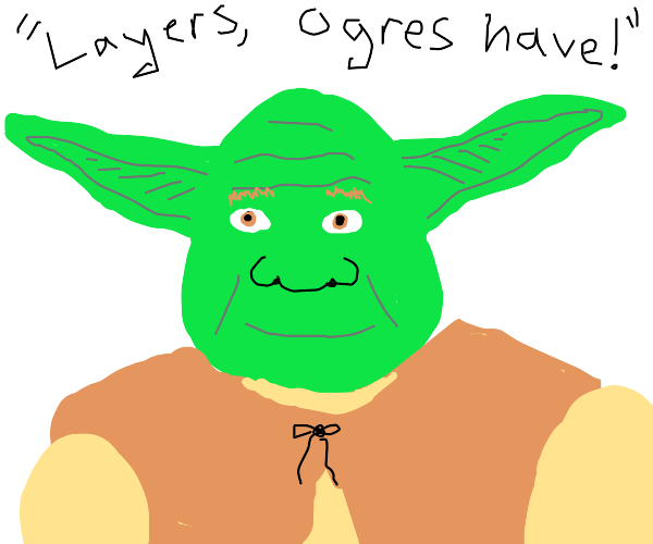 Could Shrek be Yoda's dad!?