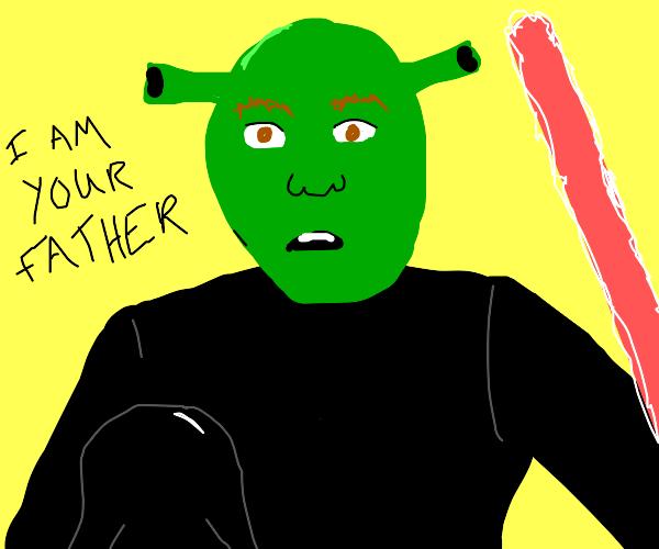 Shrek is Luke's father