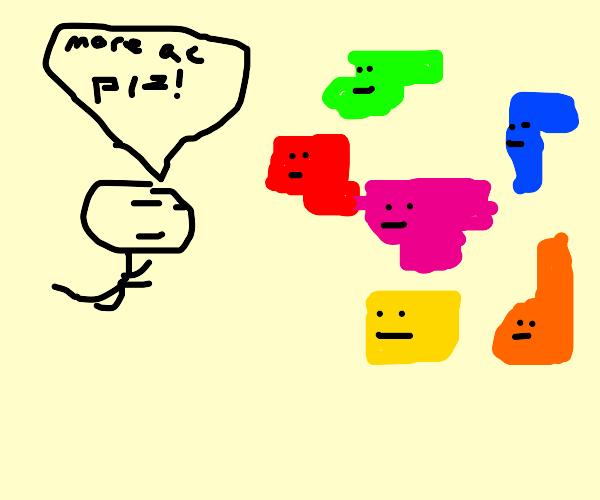 Taxing tetris