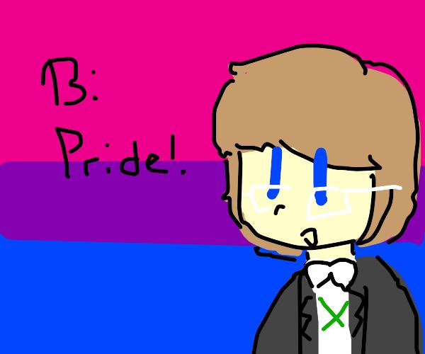 Byakuya Togami says Bi Pride!