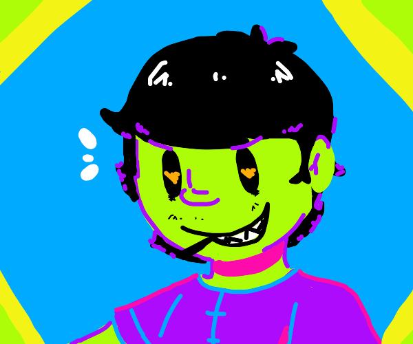 gorillaz green guy?