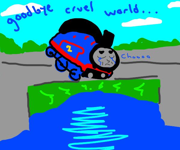 thomas the train dramatic death