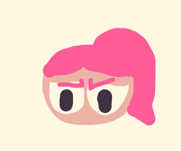 Grumpy powerpuff girl