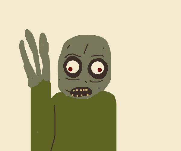 Mr.Saladfinger's finger