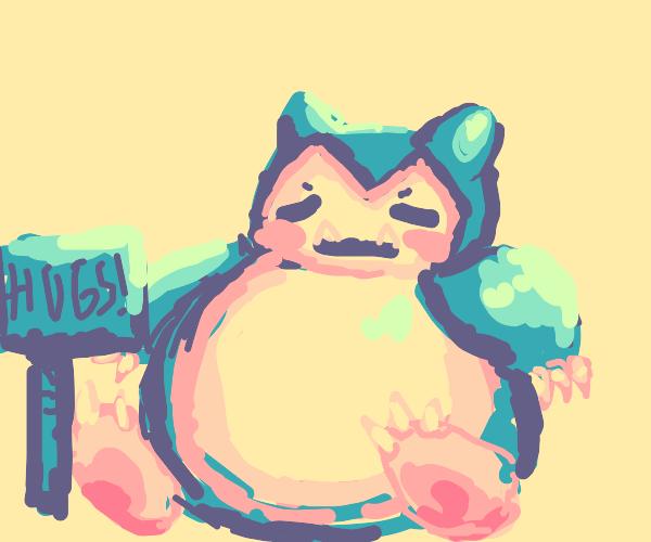 Snorlax wants a hug