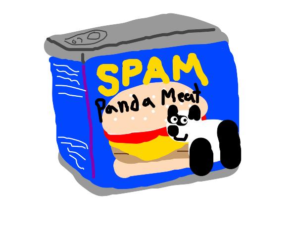 Panda spam