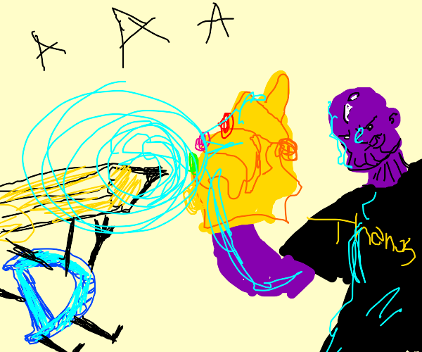drawception vs thanos