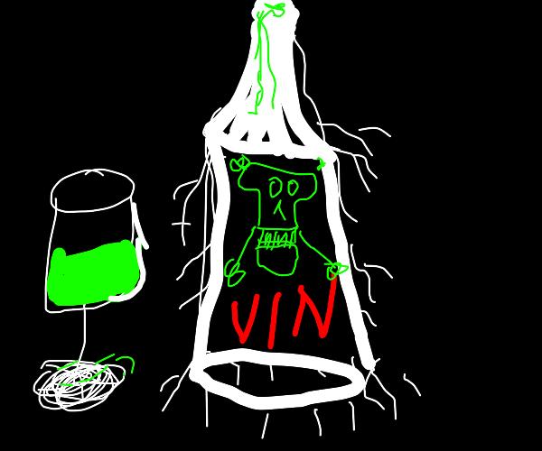 Poisoned wine