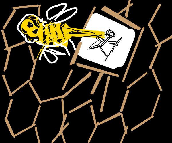 Bee Sketching