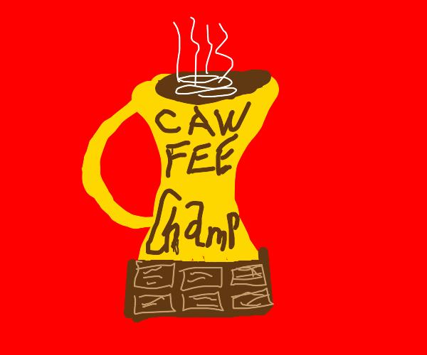 trophy mug