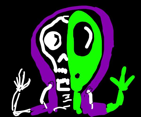 half man half alien