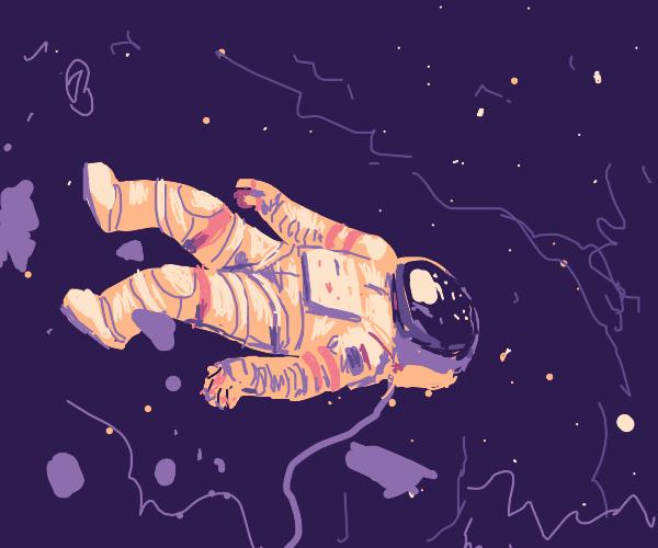 Dead astronaut.