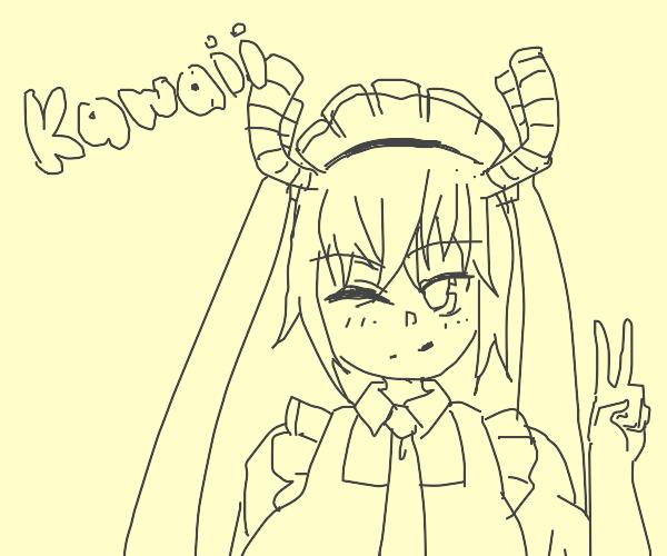 Cute Dragon Maid