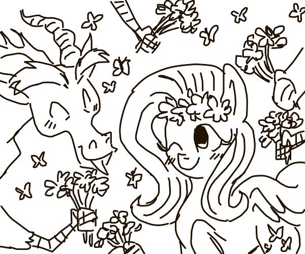 pony marries dragon