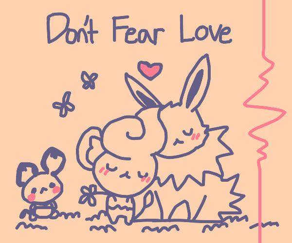 Rabit says don't fear love