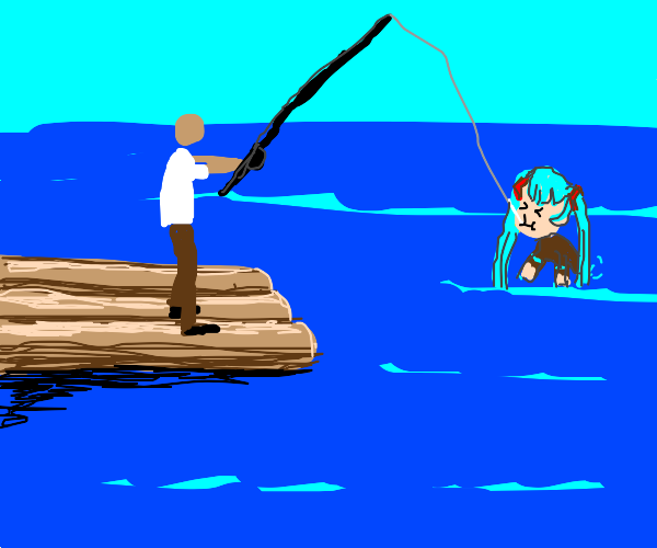 Hatsune Miku Fishing