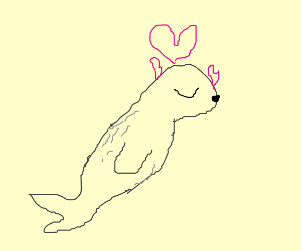 Detailed love seal