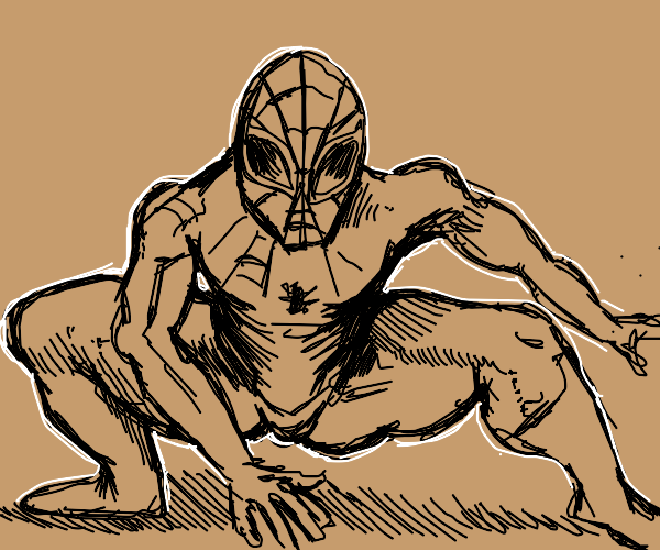 Spider-Man thicc