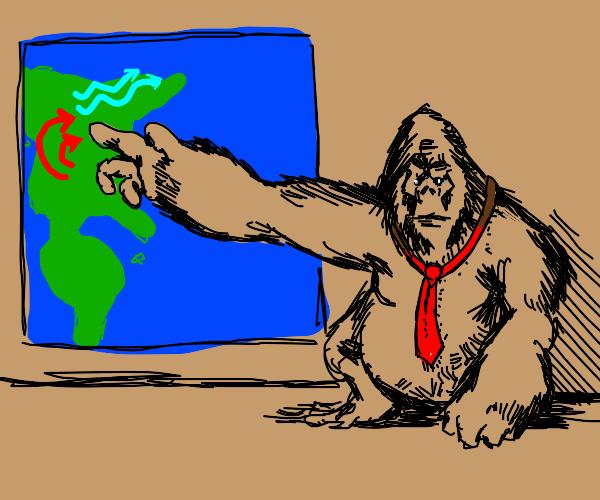Gorilla Weatherman