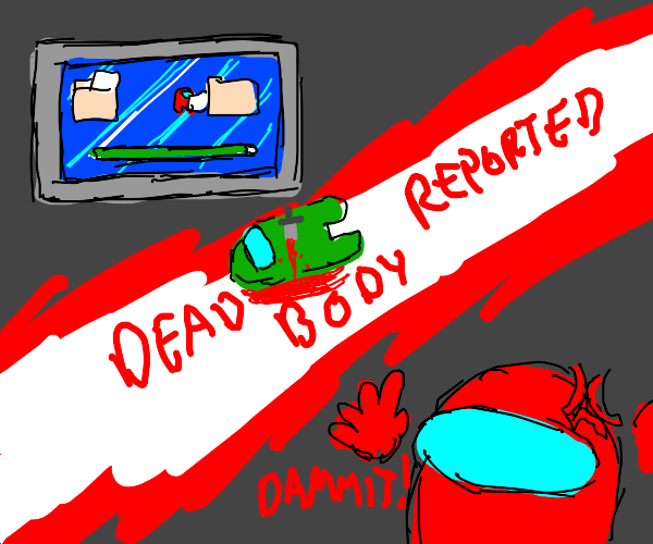 Dead body reported Among us