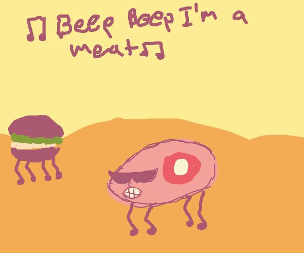 beep beep i am meat