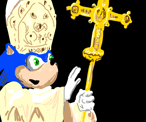 sonic pope