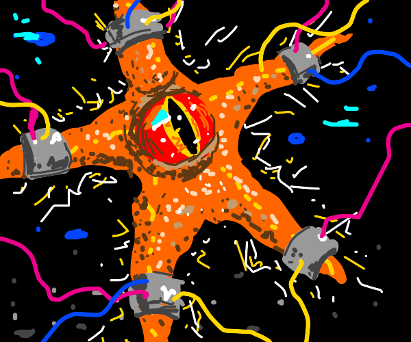 evil starfish gains superpowers