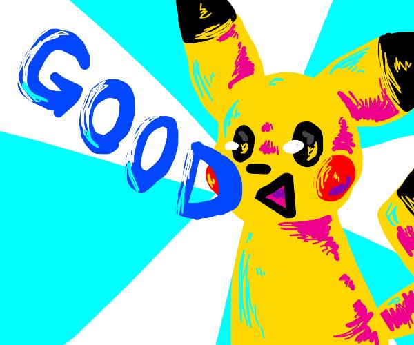 pokemon says good