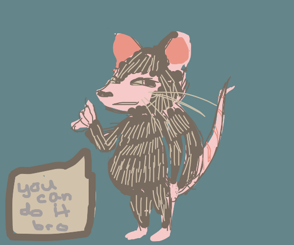 Motivational rat
