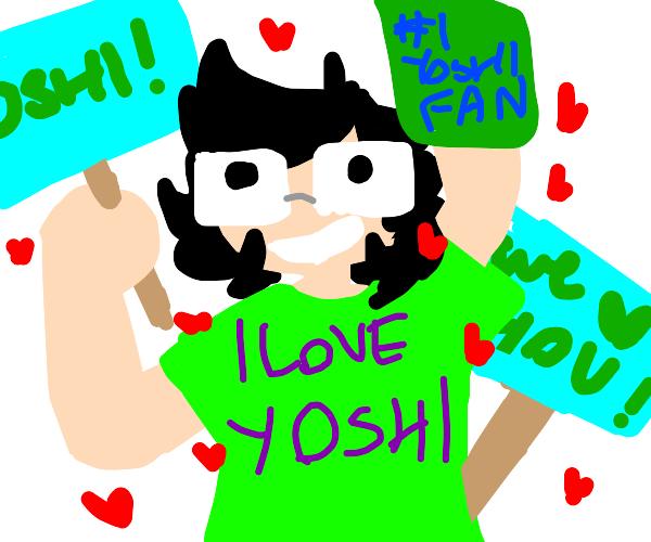 Yoshi's #1 fan!