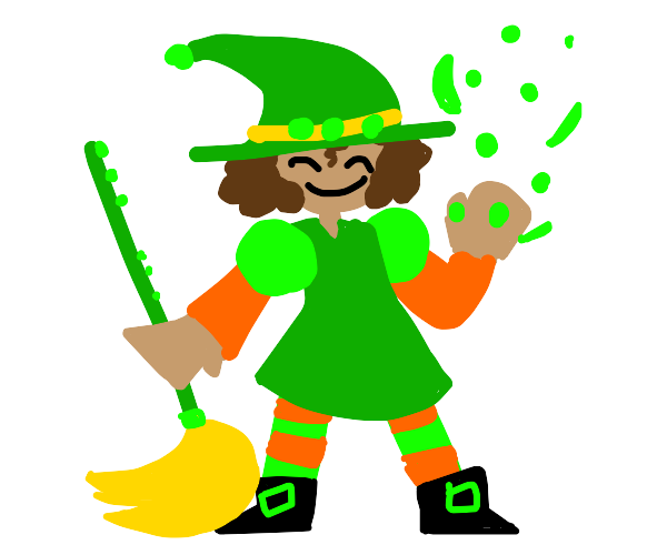 A pea witch