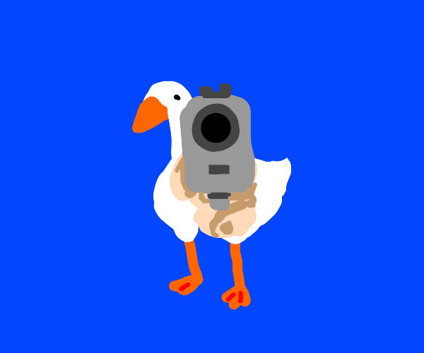 bow before the duck(honk)