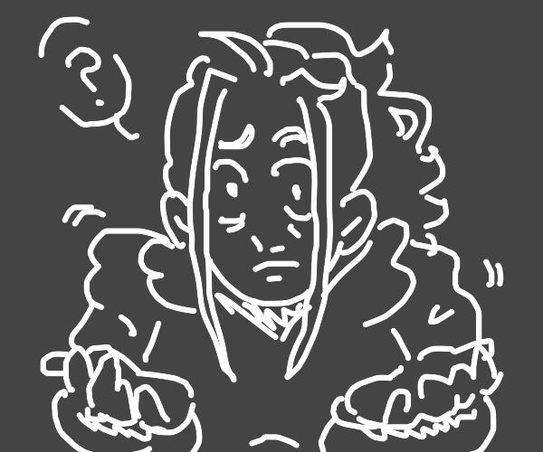 guy shrugging (nice drawing)