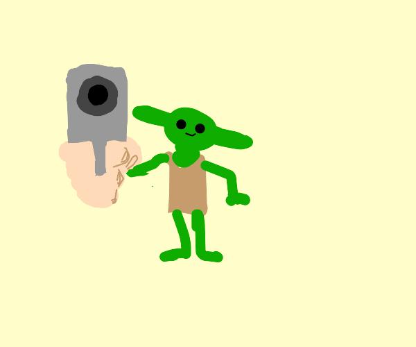goblin with a gun