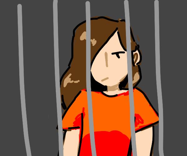 girl in jail