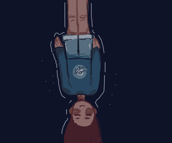 Levitating upside down