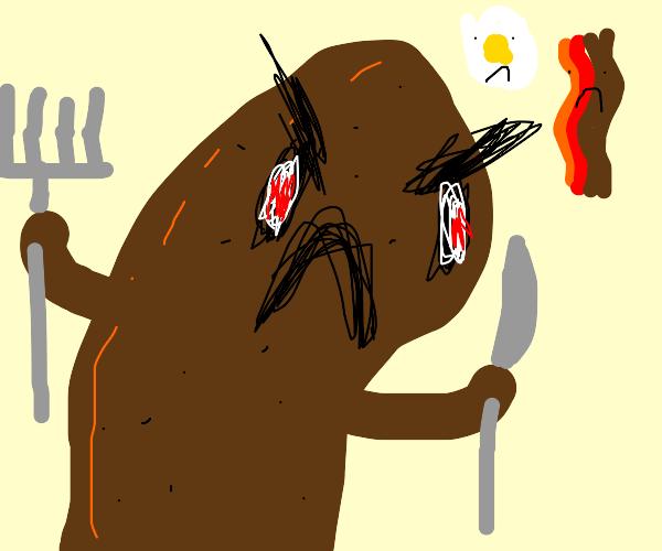 angry Sausage