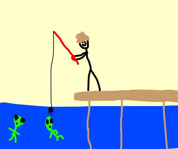 Fishing for aliens