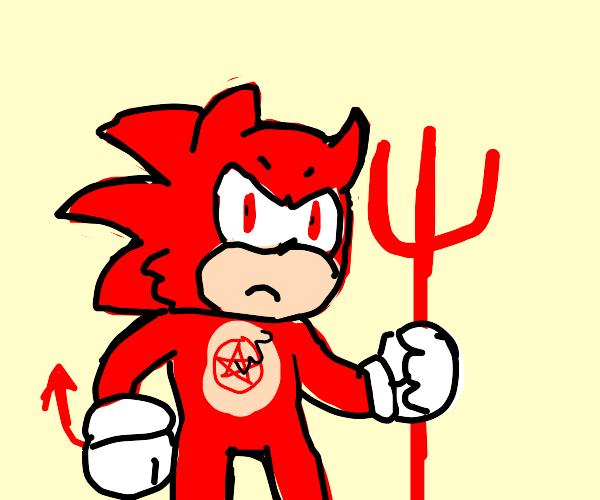 Red devil sonic