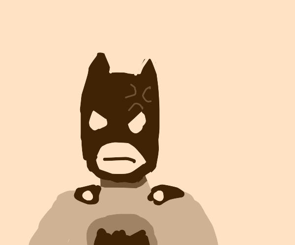 batman is mad