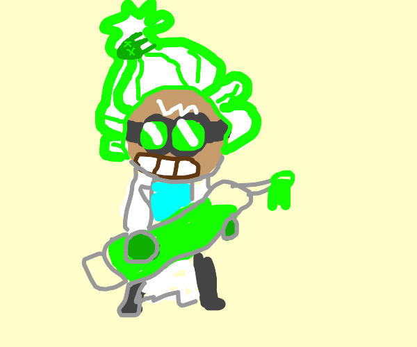 dr wasabi from cookie run i think