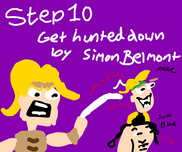 Step 9: After being turned into vampires, fly